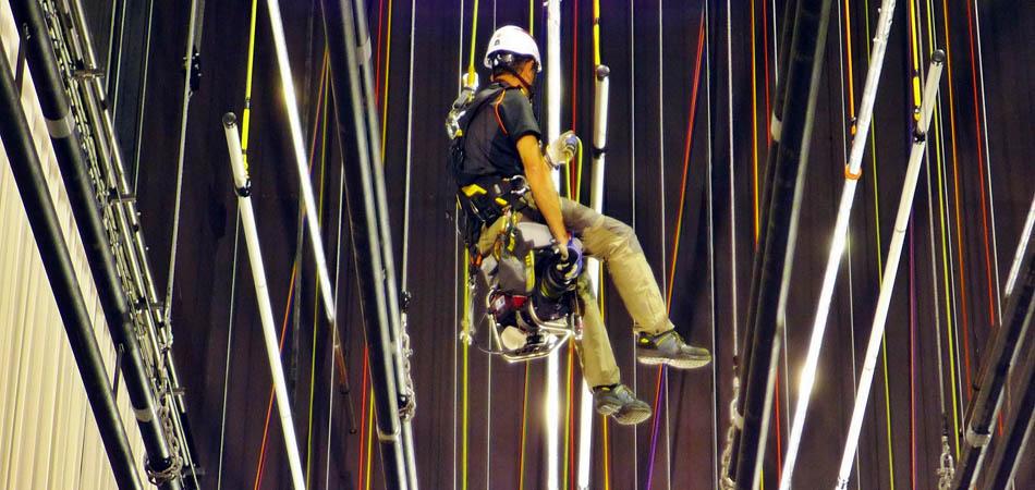 seguridad en trabajos verticales, confinados e inaccesibles