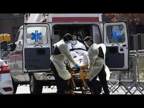 la pandemia del coronavirus causa récord de muertos en EEUU el 8 de abril - NOTICIAS SEGUROS
